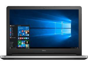 "DELL Laptop Inspiron 15 i5559-3347SLV Intel Core i5 6200U (2.30 GHz) 8 GB Memory 1 TB HDD Intel HD Graphics 520 15.6"" 1366 x 768  Windows 10 Home 64-Bit"