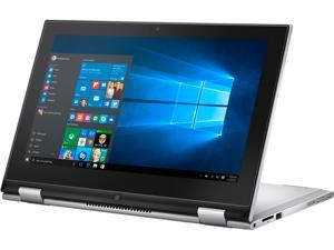 """DELL Inspiron 11-3157 (i3000-10099SLV) 2-in-1 Laptop Intel Pentium N3700 (1.6 GHz) 500 GB HDD Intel HD Graphics Shared memory 11.6"""" Touchscreen Windows 10 Home 64-Bit"""