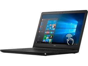 "DELL Laptop Inspiron 15-5555 (i5555-1428BLK) AMD A8-Series A8-7410 (2.20 GHz) 6 GB Memory 1 TB HDD AMD Radeon R5 Series 15.6"" Touchscreen Windows 10 Home 64-Bit"