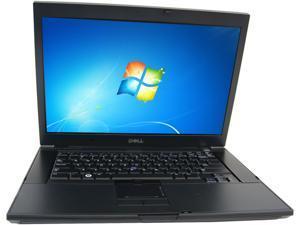 """DELL C Grade Laptop E6500 Intel Core 2 Duo 2.40 GHz 4 GB Memory 160 GB HDD 15.4"""" Windows 7 Home Premium 64-Bit"""