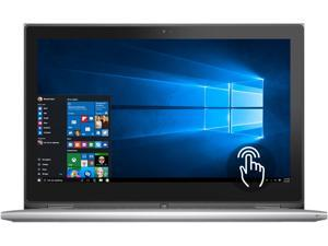 "DELL Inspiron 13 i7359-1145SLV 2-in-1 Convertible Laptop Intel Core i3 6100U (2.30 GHz) 4 GB Memory 500 GB HDD Intel HD Graphics 520 13.3"" 1366 x 768 Touchscreen Windows 10 Home 64-Bit"