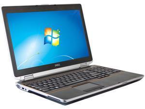 "DELL B Grade Laptop E6520 Intel Core i5 2410M (2.30 GHz) 4 GB Memory 320 GB HDD 15.6"" Windows 7 Professional 64-Bit"