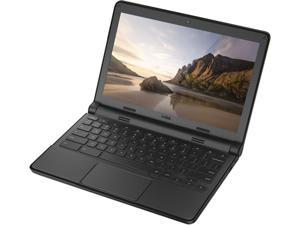 "DELL 11-3120 Chromebook Intel Celeron N2840 (2.16 GHz) 4 GB Memory 16 GB SSD 11.6"" Chrome OS"