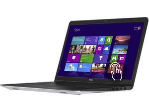 "DELL Laptop Inspiron 15 5000 i5545-3750sLV AMD A10-Series A10-7300 (1.90 GHz) 8 GB Memory 1 TB HDD AMD Radeon R6 Series 15.6"" Touchscreen Windows 8.1 64-Bit"