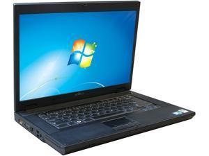 """DELL Laptop E5500 Intel Core 2 Duo 2.00 GHz 4 GB Memory 750 GB HDD 15.4"""" Windows 7 Home Premium 64-Bit"""