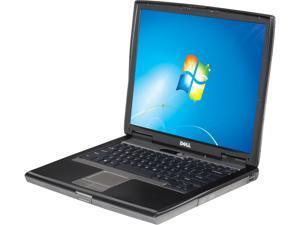 "DELL Laptop D520 Dual Core Processor 1.60 GHz 2 GB Memory 80 GB HDD 15.0"" Windows 7 Professional 32-Bit"