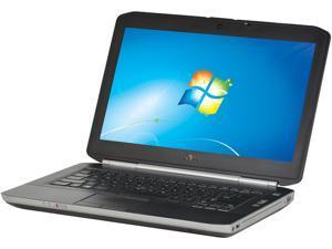"DELL Laptop Latitude E5420 Intel Core i5 2520M (2.50GHz) 4GB Memory 250GB HDD 14.0"" Windows 7 Professional 64-Bit (Microsoft Authorized Refurbish) w/1 Year Warranty"