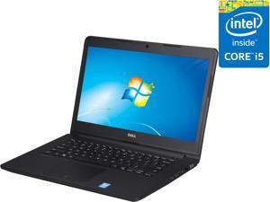 "DELL Laptop Latitude 3450 TM2W6 Intel Core i5 5200U (2.20 GHz) 4 GB Memory 500 GB HDD Intel HD Graphics 5500 14.0"" Windows 7 Professional 64-Bit"