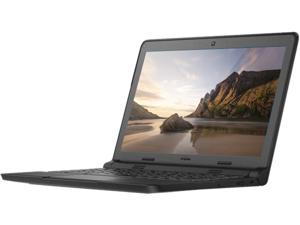 "DELL Notebooks 3VK89 Intel Celeron N2840 (2.16GHz) 2GB Memory 16GB SSD Intel HD Graphics 11.6"" Chrome OS"