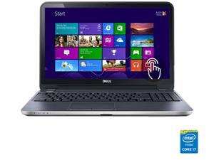 "DELL Laptop Inspiron 15R (5537) Intel Core i7 4500U (1.80 GHz) 8 GB Memory 1 TB HDD Intel HD Graphics 4400 15.6"" Touchscreen Windows 8"