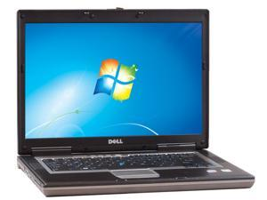 """DELL D820 Notebook Intel Core 2 Duo 1.83GHz 2GB Memory 80GB HDD Integrated Graphics 15.5"""" Windows 7 Home Premium"""