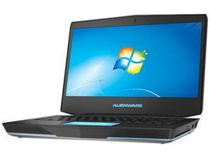 "DELL Alienware 14 (ALW14-2814sLV) Notebook Intel Core i7-4700MQ 2.4GHz 14.0"" Windows 7 Home Premium 64-bit"
