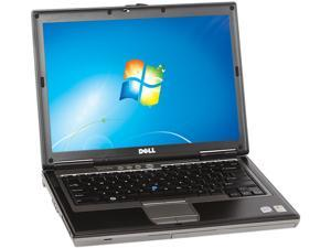 "DELL Laptop D630 Intel Core 2 Duo 1.80 GHz 2 GB Memory 80 GB HDD Integrated Graphics 14.0"" Windows 7 Professional 32-Bit"