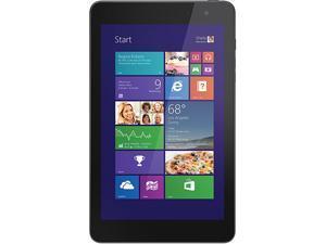 "DELL Venue 8 Pro BELL8-1818BLK Intel Atom 2 GB Memory 64GB eMMC 8.0"" Touchscreen Tablet Windows 8.1 32-Bit"