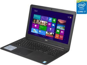 "DELL Laptop Inspiron 15 i5547-5780sLV Intel Core i7 4510U (2.00 GHz) 8 GB Memory 1 TB HDD Intel HD Graphics 4400 15.6"" Windows 8.1 64-Bit"