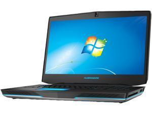 """DELL Alienware ALW17-8751sLV Gaming Laptop Intel Core i7-4710MQ 17.3"""" Windows 7 Home Premium 64-bit"""