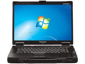 "Panasonic Toughbook 15.4"" Windows 7 Professional Notebook"