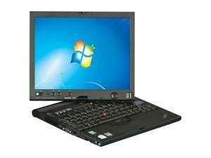 "ThinkPad Intel Core 2 Duo 2GB Memory 80GB HDD 12.1"" Tablet PC Windows 7 Home Premium X61"