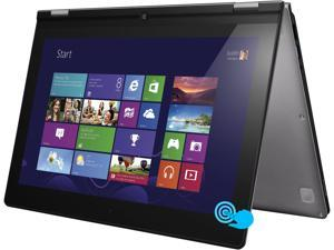 "Lenovo IdeaPad Yoga 13 Intel Core i7 8GB 256GB SSD 13.3"" Touchscreen Convertible Ultrabook Silver Gray (59359564)"