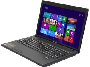 "Lenovo G585 (59359143) AMD Dual Core E1-1500 1.48GHz 15.6"" Windows 8 Notebook"
