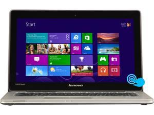 "Lenovo IdeaPad U310 (59365302) Intel Core i5 4GB 13.3"" Touchscreen Ultrabook Graphite Gray"