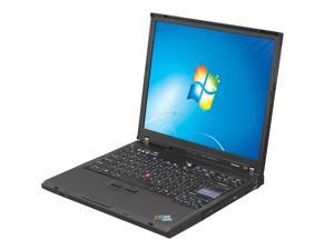 "ThinkPad T60 Intel Pentium dual-core 2.0GHz 14.1"" Windows 7 Professional Notebook"