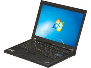 "ThinkPad T Series T400 Intel Core 2 Duo 2.4GHz 14.1"" Windows 7 Professional Notebook"