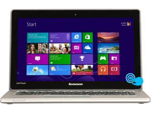 "Lenovo IdeaPad U310 (59381114) Intel Core i5 8GB Memory 500GB HDD 24GB SSD 13.3"" Touchscreen Ultrabook Windows 8"