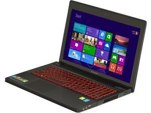 "Lenovo IdeaPad Y510p (59385820) Intel Core i7-4700MQ 2.4GHz 15.6"" Windows 8 Notebook"