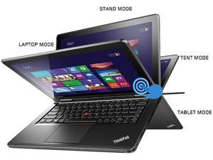 "ThinkPad YOGA 2-in-1 Ultrabook -  Intel Core i7 4500U (1.80GHz) 8GB RAM 256GB SSD 12.5"" Full HD Touchscreen Windows 8.1 (20CD0033US)"