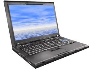 "ThinkPad Laptop T400 Intel Core 2 Duo 2.20 GHz 160 GB HDD Integrated Graphics 14.0"" Windows 7 Professional"