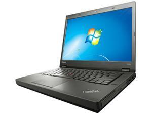 "ThinkPad T440p Notebook Intel Core i5 4200U (1.60GHz) 4GB Memory 500GB HDD Intel HD Graphics 4400 14.0"" Windows 7 Professional ..."