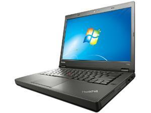 """ThinkPad Laptop ThinkPad T440p Intel Core i5 4300M (2.60 GHz) 4 GB Memory 500 GB HDD NVIDIA GeForce GT 730M 14.0"""" Windows 7 Professional 64bit"""