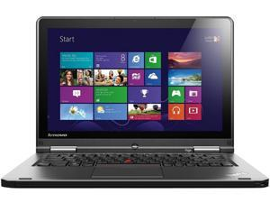"ThinkPad 20CD00AVUS Notebook Intel Core i5 4300U (1.90GHz) 4GB Memory 180GB SSD Intel HD Graphics 4400 12.5"" Touchscreen ..."