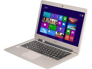 "Acer Notebook, B Grade Aspire S S3-391-6448 Intel Core i3 2nd Gen 2377M (1.50 GHz) 4 GB Memory 500 GB HDD 20 GB SSD Intel HD Graphics 3000 13.3"" Windows 8"