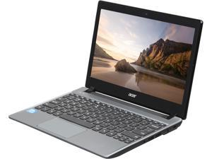 "Acer C710-2833 Intel Celeron 847(1.1GHz) 11.6"" 2GB Memory 16GB SSD Intel HD Graphics Chromebook"