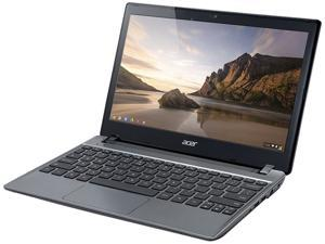 "Acer Aspire C710-2826 Chromebook Intel Celeron 847 (1.1 GHz) 2 GB Memory 16 GB SSD 11.6"" Chrome OS"