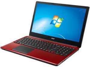 """Acer Aspire E1-572-34014G50Mnrr 15.6"""" LED Notebook - Intel Core i3 i3-4010U 1.70 GHz - Red"""