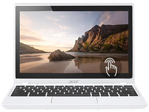 "Acer Aspire C720P-2457 Chromebook Intel Celeron 2955U (1.40 GHz) 4 GB Memory 32 GB SSD 11.6"" Touchscreen Chrome OS"
