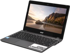 "Acer C720-2827 Chromebook Intel Celeron 2955U (1.40 GHz) 2 GB Memory 16 GB SSD 11.6"" Chrome OS"