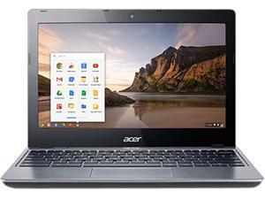 """Acer C720-3404 Chromebook Intel Core I3-4005U 1.70 GHz 11.6"""" Chrome OS"""
