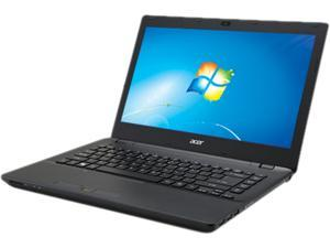 "Acer TravelMate P246-M TMP246-M-33PH 14"" LED (ComfyView) Notebook - Intel Core i3 i3-4030U 1.80 GHz - Black"