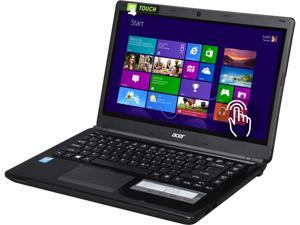 "Acer Aspire E1 (E1-472P-6860) 14.0"" Touchscreen Notebook with Intel Core i5-4200U 1.60Ghz (2.60Ghz Turbo), 4GB DDR3 RAM, 500GB HDD, Intel HD Graphics 4400, HDMI, USB 3.0, Webcam, Windows 8.1 64 Bit"