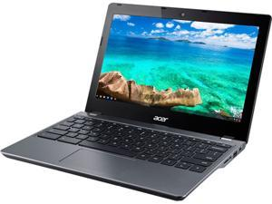 "Acer C740-C3P1-US Chromebook Intel Celeron 3205U (1.50 GHz) 2 GB DDR3L Memory 16 GB eMMC Intel HD Graphics 11.6"" ComfyView 1366 x 768 Chrome OS 64-Bit"