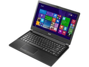 """Acer Laptop TravelMate TMP446-M-53B7 Intel Core i5 5200U (2.20 GHz) 4 GB Memory 500 GB HDD Intel HD Graphics 5500 14.0"""" Windows 7 Professional 64-Bit (available through DG rights from Windows 8.1 Pro)"""