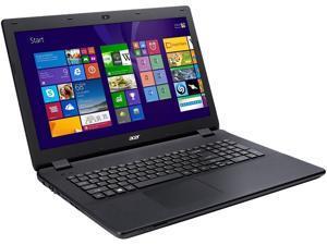"Acer Laptop Aspire ES1-711-P1UV Intel Pentium N3540 (2.16 GHz) 4 GB Memory 500 GB HDD Intel HD Graphics 17.3"" Windows 8.1"