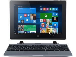 "Acer One 10 S1002-12V2 Bilingual Ultrabook Intel Atom Z3735F (1.33 GHz) 2 GB Memory 32 GB Flah memory Intel HD Graphics 10.1"" Touchscreen 1200 x 800 Windows 10 Home"