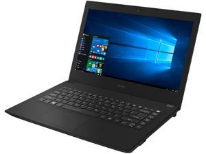 "Acer Laptop TravelMate P248 TMP248-M-76YA-US Intel Core i7 6th Gen 6500U (2.50 GHz) 8 GB DDR3L Memory 500 GB HDD Intel HD Graphics 520 14.0"" Windows 10 Pro 64-Bit / Windows 7 Professional 64-Bit"