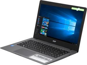 "Acer Laptop Aspire One Cloudbook AO1-431-C8G8 Intel Celeron N3050 (1.60 GHz) 2 GB DDR3L Memory 32 GB Flash SSD Intel HD Graphics 14.0"" Windows 10 Home 64-Bit"