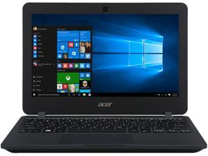 "Acer Laptop TravelMate B TMB117-M-C0DK-US Intel Celeron N3050 (1.60 GHz) 4 GB Memory 32 GB eMMC Intel HD Graphics 11.6"" 1366 x 768 Windows 10 Pro 64-Bit"